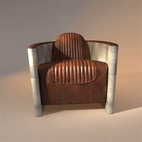 aviator chair aviator chair 3d model obj 3ds fbx 3dm dwg cgtrader