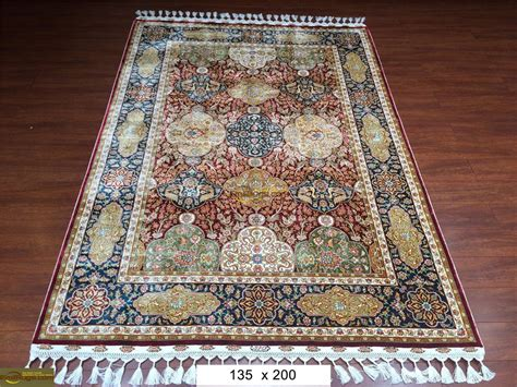 Handmade Carpets - silk rugs handmade silk carpets knotted silk
