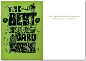 bald birthday cards cool cards personalised