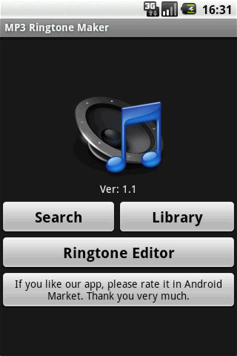 free mp3 ringtones android mp3 ringtone maker for android