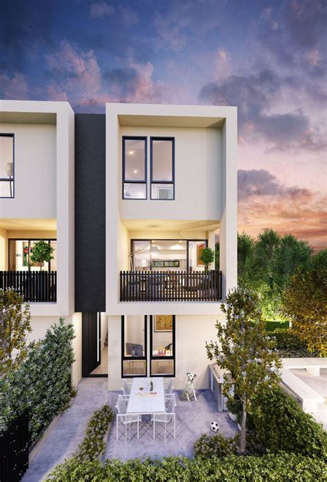 town house the grove maidstone townhouse melbourne and architects