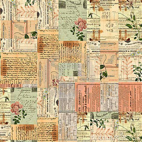 pattern in writing news mi baul del decoupage scrap vintage