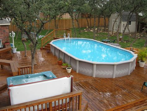 Backyard Above Ground Pool Pool Category Backyard Ideas With Above Ground Pools 81 House Plans With Pictures Of Inside
