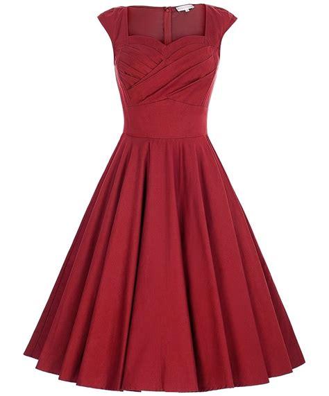 sweetheart swing tiffany red sweetheart swing dress 1950sglam