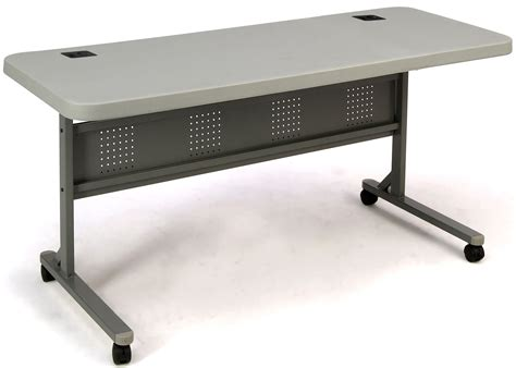 5 foot table seating national seating bpft 2460 5 foot plastic flip n
