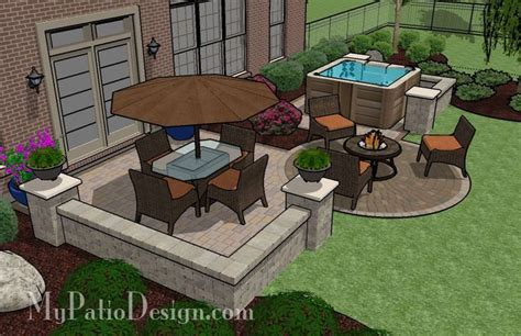 patio tub design ideas patio with dining area and tub design search