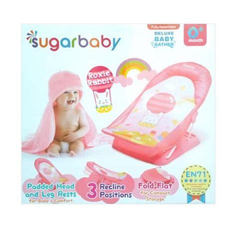 Promo Sugar Baby Deluxe Baby Bather jual sugar baby roxie rabbit deluxe baby bather pink