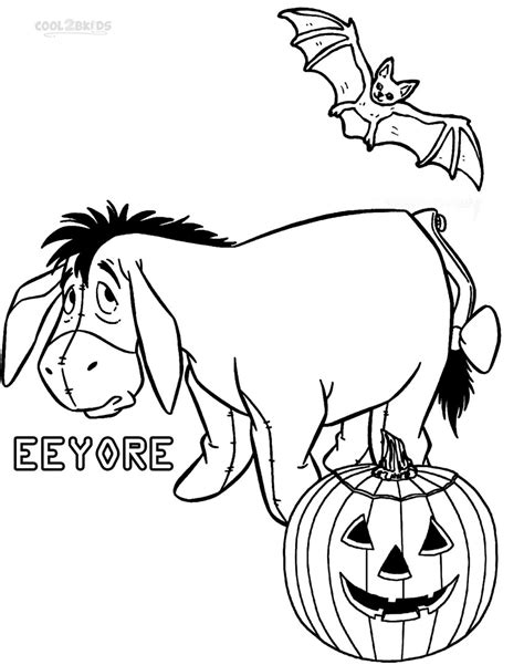 winnie the pooh halloween coloring pages printable printable eeyore coloring pages for kids cool2bkids
