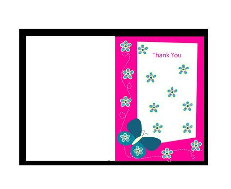 thank you card miami template 30 free printable thank you card templates wedding
