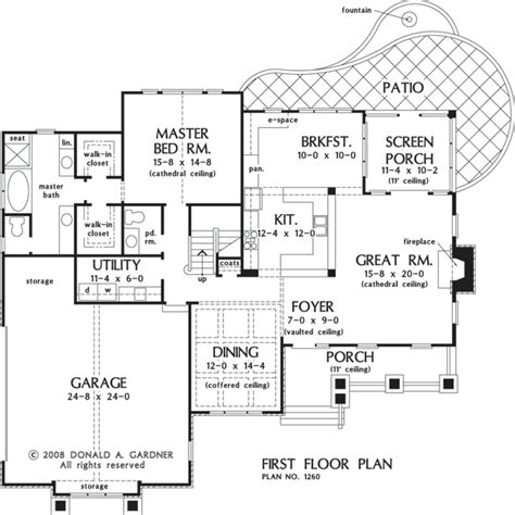 donald gardner floor plans the mainestone house plan images see photos of don gardner house plans 3867 12601 f