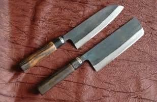 best japanese kitchen knives in the world all purpose knives kurouchi santoku and nakkiri knife 165mm