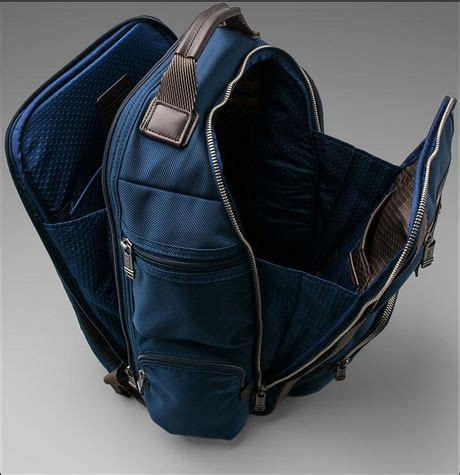 Tumi Kingsville Deluxe Brief Pack 222382nvy2 tumi alpha bravo kingsville deluxe brief pack in blue lyst