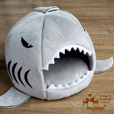 dog shark bed shark pet bed craziest gadgets