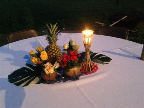 Hawaiian Table Decorations Ideas by Hawaiian Themed Centerpiece Ideas