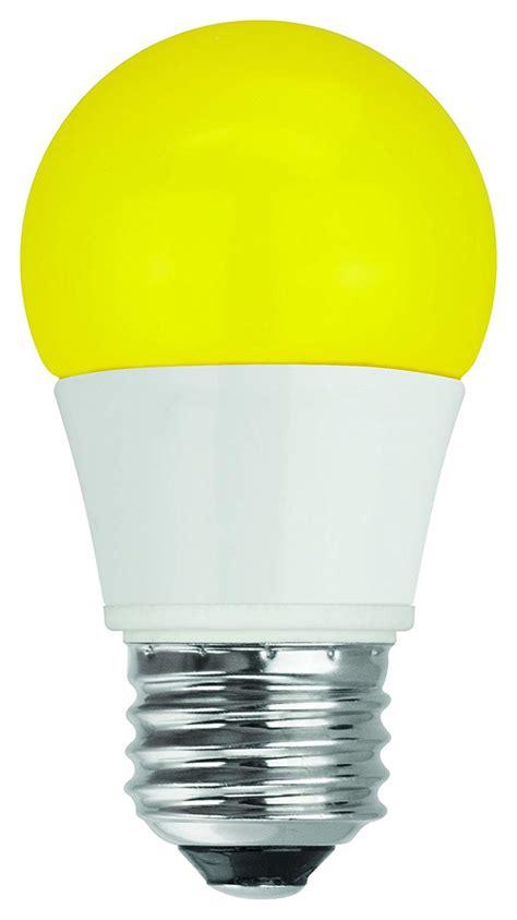 yellow bug light bulbs tcp 40 watt equivalent single pack led yellow bug light