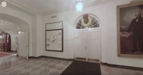white house tour request check out this 360 degree holiday tour of the white house on youtube video 9to5google
