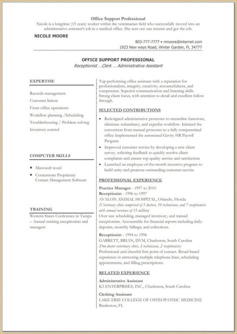 Resume Templates Microsoft by Great Resume Templates For Microsoft Word Website Resume