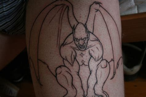 gargoyle tattoo most beautiful gargoyle design in the world