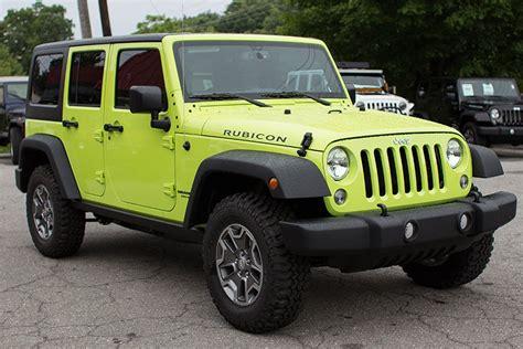 hyper green jeep go4x4it a rubitrux blog unlimited possibilities