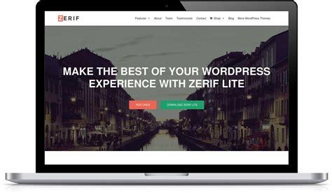 free wordpress themes zerif lite free themes wphost pk