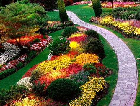 Simple Flower Garden Ideas Easy Flower Garden Ideas Flower Idea