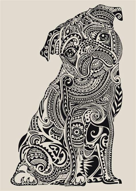 pug mandala septagonstudios huebucket on polynesian pug pug and chug stuff