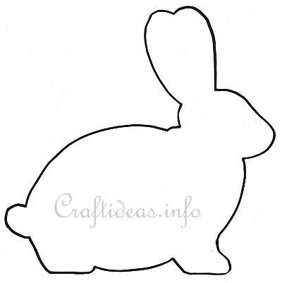 v shaped pattern in c easter template easter bunny shape for a wooden easter