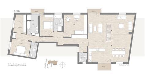 7 Zimmer Wohnung Grundriss by Cube Wohnen In Schwabing