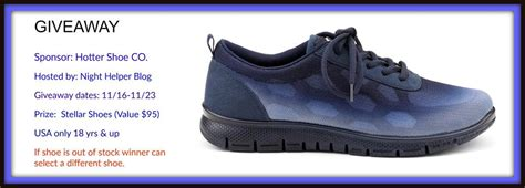 hotter shoes usa hotter stellar shoes giveaway usa only ends 11 23