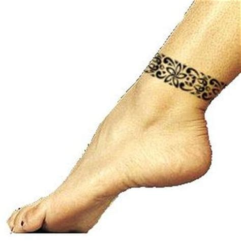 tribal ankle band tattoos tribal ankle bracelet tattoos www pixshark images