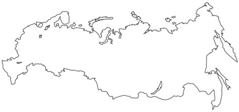 russia map black and white geo map europe russia