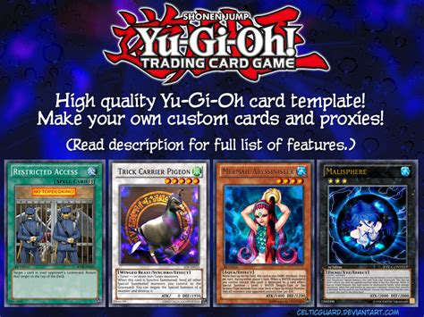 yugioh card proxy template yu gi oh card template hd new style v1 1 by celticguard