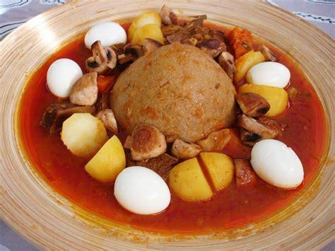 food dish libyan food bazeen بازين