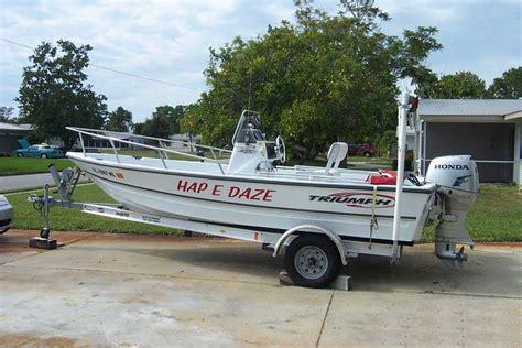triumph boat trailer 2002 17 triumph cc w 2003 honda 50 hp st petersburg fl