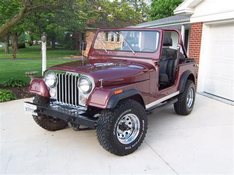 82 Jeep Cj7 Rudy S Classic Jeeps Llc 82 Cj7 From Ca Rebuilt Engine