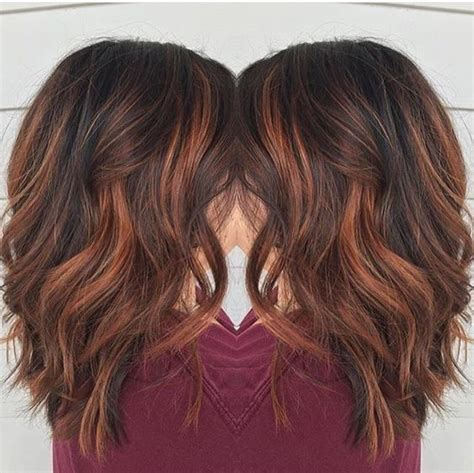 copper brown toner hair 35 gorgeous highlights for brightening up dark brown hair