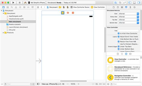 storyboard tutorial for xcode 6 using storyboards in xcode 8