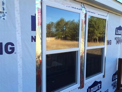 window replacement on our mobile home mobile home