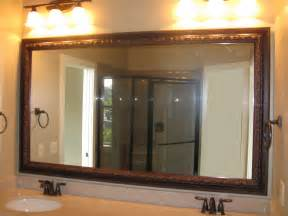 mirror frame kits for bathroom mirrors reflected design same mirror frame kit 4 different looks