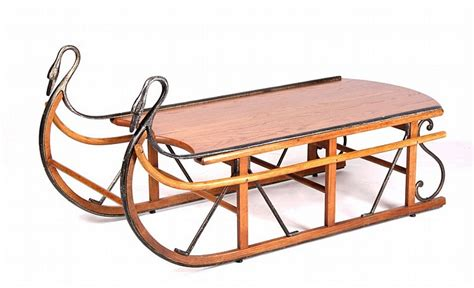 Antique Style Trails Sleigh Coffee Table The Piece Sleigh Coffee Table