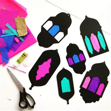 eid crafts for best 25 ramadan lantern ideas on eid what is