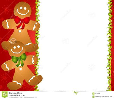free printable gingerbread man border free printable gingerbread man clipart 68