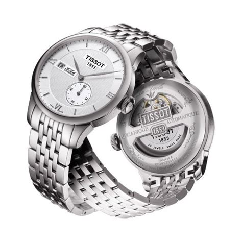 Tissot Le Locle Automatic T006 428 11 038 00 t006 428 11 038 00 le locle seconde silver mens