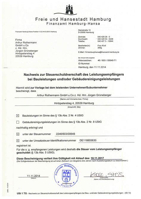 Musterrechnung Nach 13b Ustg Rothermann Elektrotechnik Downloads Nachweis 167 13 B Ustg Nachweis 167 13b Ustg