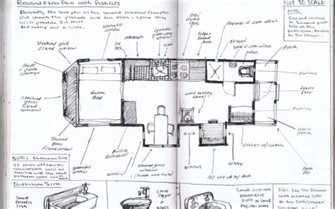 plans and drawings for the house truck a cricket hill