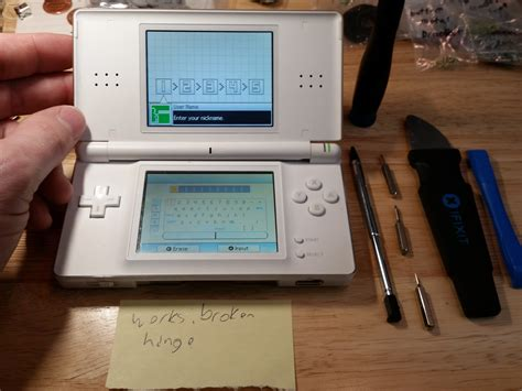 Ds Lite by Nintendo Ds Lite Disassembly Ifixit Repair Guide