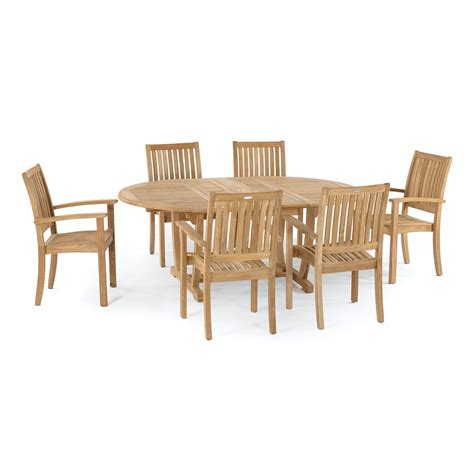 Teak Garden Dining Sets Teak Dining Set For 6 Westminster Teak Outdoor Furniture