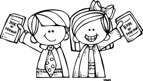 coloring page lds missionary melonheadz lds illustrating conference inspirations