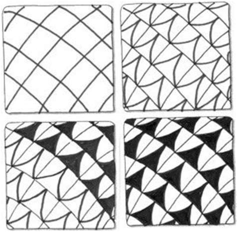 pattern drawing method best 25 easy zentangle patterns ideas on pinterest easy