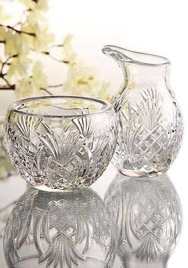 Waterford Pineapple L by Waterford Pineapple Hospitality Sugar And Creamer Set